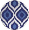 rug #633281 | round blue animal rug