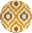 rug #633337 | round light-orange natural rug