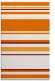 rug #634601 |  orange stripes rug