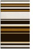 rug #634705    brown stripes rug