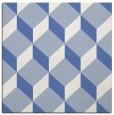rug #635505   square blue popular rug