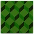 rug #635533 | square green retro rug