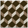 rug #635617 | square mid-brown rug