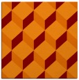 rug #635653 | square orange popular rug