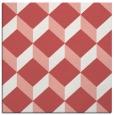 rug #635685   square pink retro rug