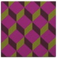 rug #635693 | square purple retro rug