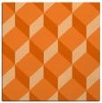 rug #635725 | square red-orange popular rug