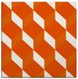 rug #635733   square red-orange retro rug