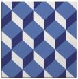 rug #635745 | square white retro rug