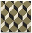 rug #635773 | square black retro rug