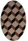 rug #635834   oval retro rug