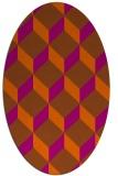 rug #636084 | oval popular rug