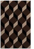 rug #636181    black retro rug