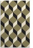rug #636477    black retro rug