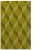 rug #636489 |  light-green retro rug