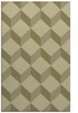 rug #636493 |  light-green retro rug