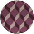 rug #636678 | round retro rug