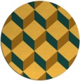 rug #636827   round retro rug