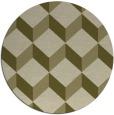 rug #636853 | round light-green popular rug
