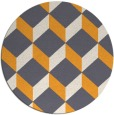 rug #636869   round white rug