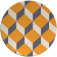 rug #636872 | round retro rug