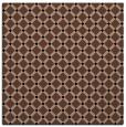 rug #637241 | square brown check rug