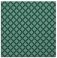 rug #637281 | square blue-green check rug