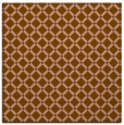 rug #637369 | square mid-brown check rug