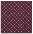 rug #637381 | square pink check rug