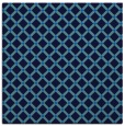 rug #637393 | square blue check rug