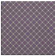 rug #637405 | square purple check rug
