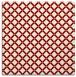 rug #637417 | square orange check rug