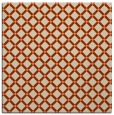 rug #637421 | square orange popular rug