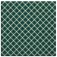 rug #637429 | square yellow check rug