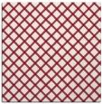 rug #637437   square pink check rug