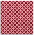 rug #637441 | square pink check rug