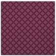rug #637449 | square purple check rug