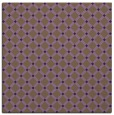 rug #637457 | square mid-brown check rug
