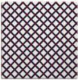 rug #637465 | square red check rug