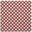 rug #637473 | square red check rug