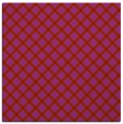 rug #637477 | square red check rug