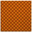 rug #637481 | square red-orange check rug