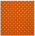 rug #637493 | square red-orange geometry rug