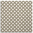rug #637517 | square yellow check rug