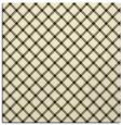 rug #637533 | square black check rug