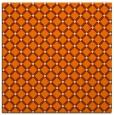 rug #637541 | square orange check rug