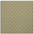 rug #637549 | square light-green check rug