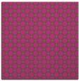 rug #637553 | square light-green check rug