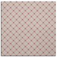 rug #637565 | square pink check rug