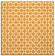 rug #637569 | square light-orange check rug